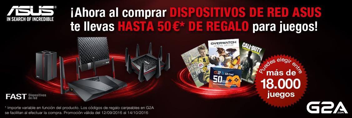 Promoción Asus G2A