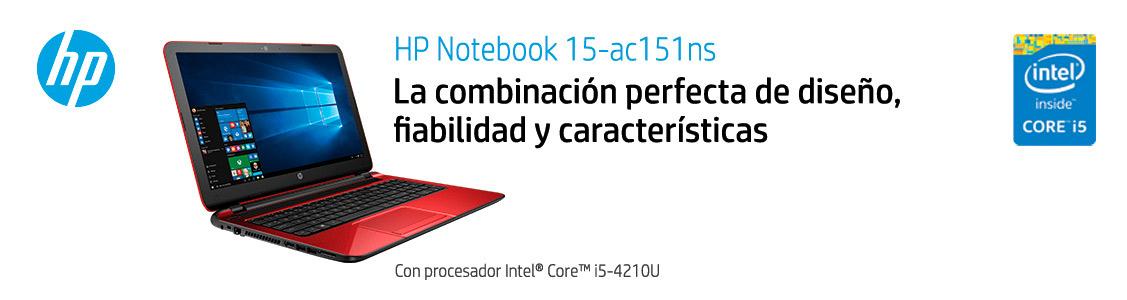 HP Notebook 15-ac151ns