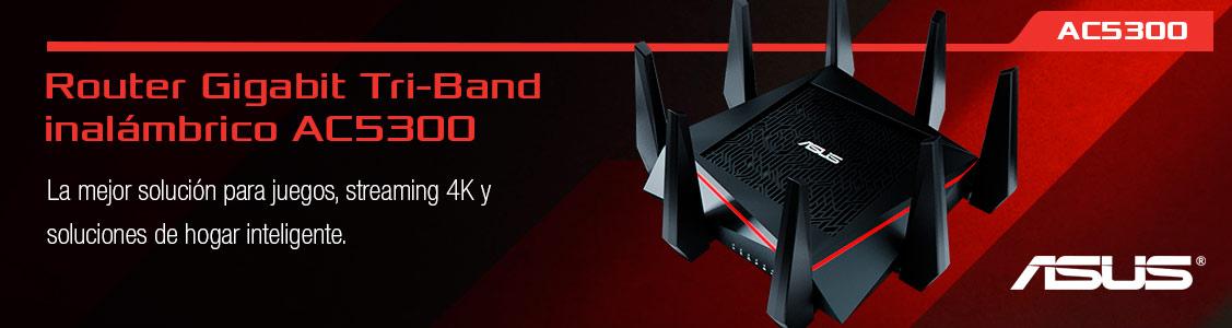 Router Gigabit Tri-Band AC5300