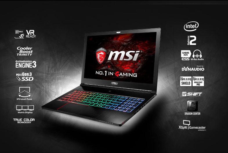 ordenadores portátiles msi