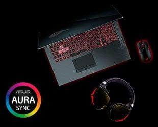 Asus Strix G con Aura Sync