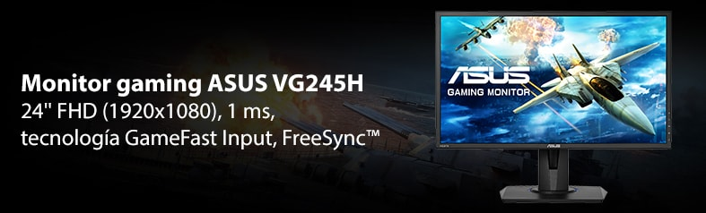 Asus vg245h monitor gaming con freesync