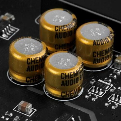 MSI B450M PRO-M2 Condensadores de alta calidad
