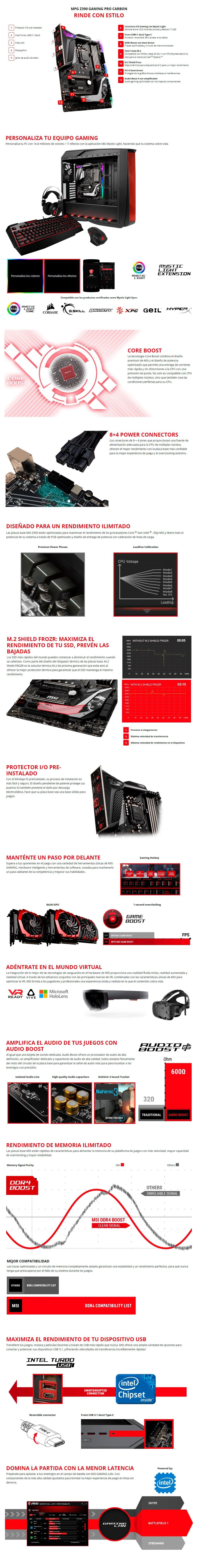 MSI MPG Z390 Pro Carbon