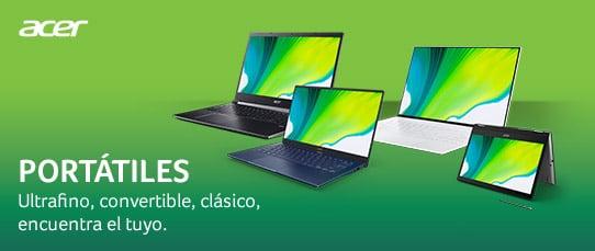 Ordenadores portátiles Acer