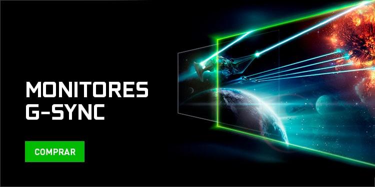 Nvidia Monitores G-Sync