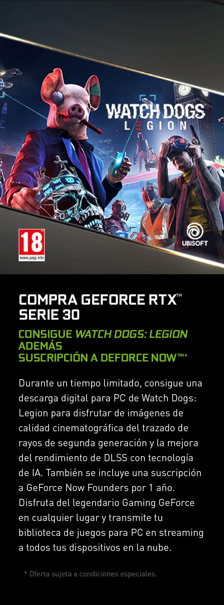 COMPRA GEFORCE RTX SERIE 30