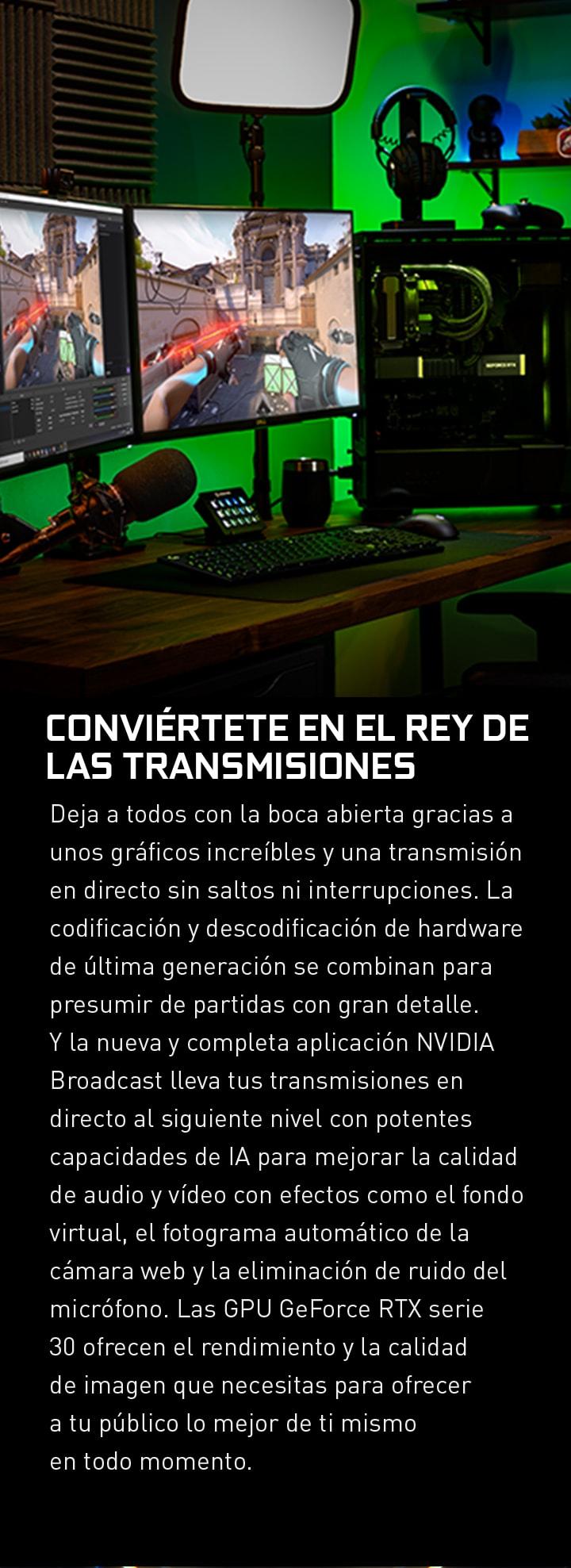 CONVIÉRTETE EN EL REY DE LAS TRANSMISIONES