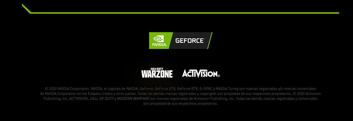 Juega inteligente - Con tecnología NVIDIA GeForce