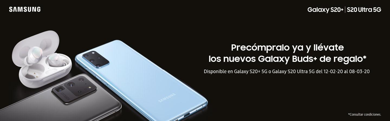Galaxy Buds Plus GRATIS con tu Galaxy S20+ / S20 Ultra 5G