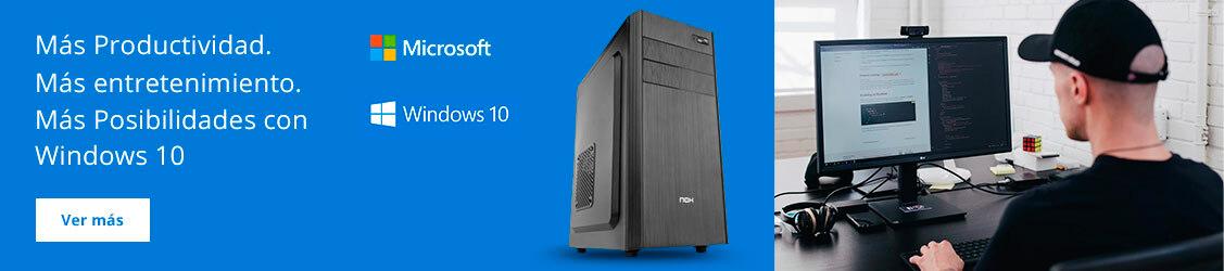 Más posibilidades con Windows 10